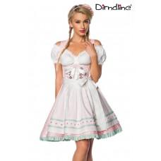 DIRNDLINE Pastell-Dirndl (PINK)