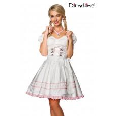 DIRNDLINE Pastell-Dirndl (White)