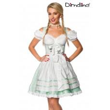 DIRNDLINE Pastell-Dirndl (mintgrün)