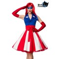 MASK PARADISE Miss America (blue / red / white)