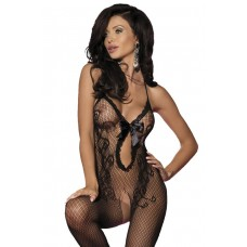 VARIOUS Bodystocking aus Netz (black)