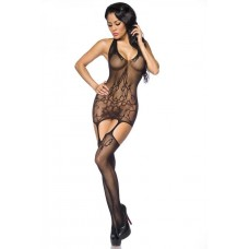 VARIOUS Straps-Bodystocking (black)