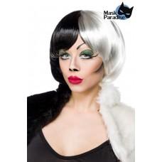 MASK PARADISE Cruel Lady Perücke (black-and-white)
