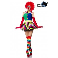 MASK PARADISE Clown Girl (colorful)