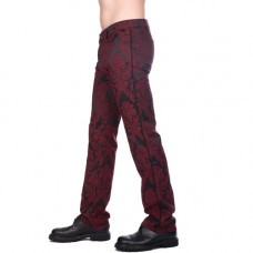 Aderlass New Hipster Brocade (Bordeaux)