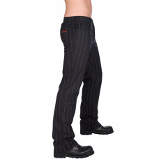 Aderlass Jeans Steampunk Pin Stripe (Black Brown)