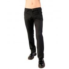 Aderlass Jeans Pin Stripe (Black-and-white)