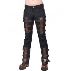 Aderlass Steampunk Pants Brocade (black)