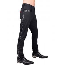 Aderlass Rockstar Pants Denim (black)