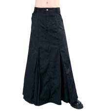 Aderlass Classic Skirt Brocade (black)