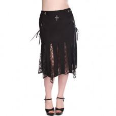 Aderlass Bell Skirt Denim (black)