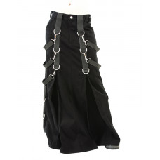 Aderlass Belt Skirt Denim (black)