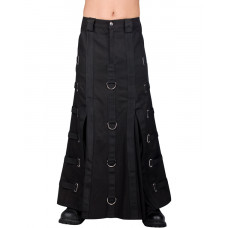 Aderlass Bondage Skirt Denim (black)
