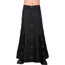Aderlass Bondage Skirt Denim (black)