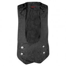 Aderlass Volant Vest Brocade (black)