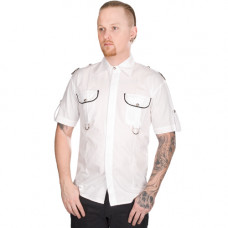 Aderlass Military Shirt Denim (White)