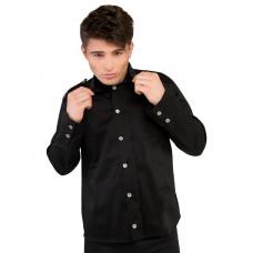 Aderlass Classic Shirt Denim (black)