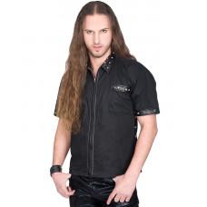 Aderlass Rockstar Shirt Denim (black)