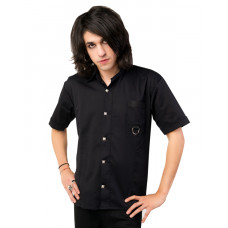Aderlass Ring Shirt Denim (black)
