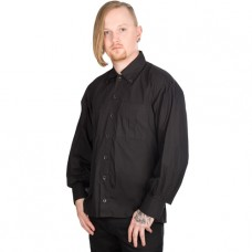 Aderlass Button Fly Shirt Denim (black)