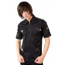 Aderlass Metal Shirt Denim (black)