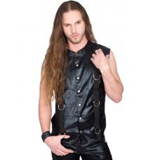 Aderlass Ring Vest Vintage (black)