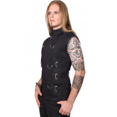 Aderlass Bondage Vest Denim (black)