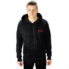 Aderlass Zip Hoodie Kapuzen-Jacke (black)
