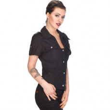 Aderlass Military Blouse Denim (black)