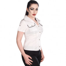 Aderlass Military Blouse Denim (White)