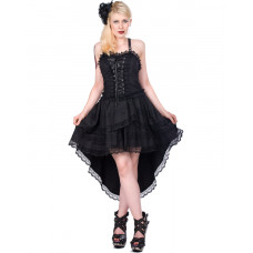 Aderlass Lolita Wing Dress Denim (black)