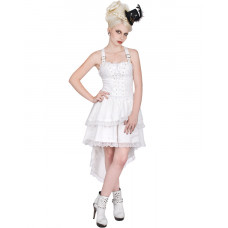 Aderlass Lolita Wing Dress Denim (White)