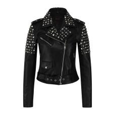 Aderlass Ladys Rockstar Jacket Nappa Leather (black)