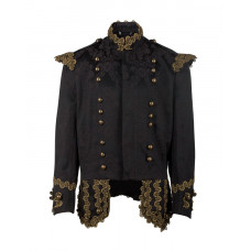 Aderlass Steampunk Jacket Brocade (brown)