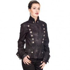 Aderlass Ladys Corsair Jacket Art Denim (black)