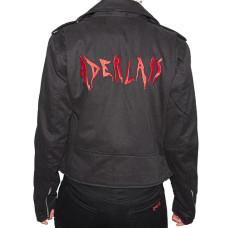 Aderlass Ladys Biker Jacket Denim (black)