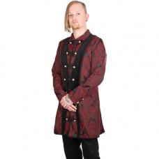 Aderlass Classic Coat Brocade (Bordeaux)