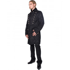 Aderlass Admiral Coat Brocade (black)