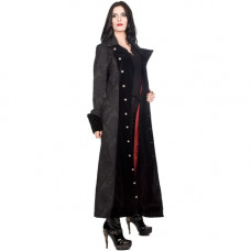 Aderlass Ladys Barock Coat Brocade (black)