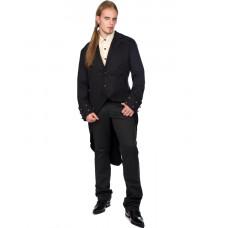 Aderlass Steampunk Coat Denim (black)