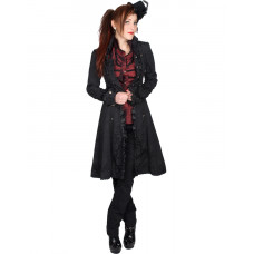Aderlass Ladys Riffle Coat Brocade (black)