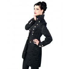 Aderlass Ladys Corsair Coat Brocade (black)