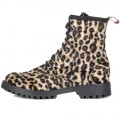 Aderlass 8-Eye Boots Fake Fur (Leppard)