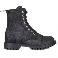 Aderlass 8-Eye Boots Leather Brocade (black)
