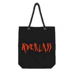 Aderlass City Bag Canvas 35x40x10cm (black red)