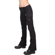 Black Pistol Ring Hipster Denim (black)
