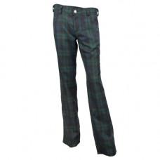 Black Pistol Tartan Pants (Green-Blue)
