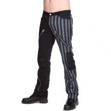 Black Pistol Freak Pants Stripe (Europass-Gray)