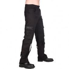 Black Pistol Pyramide Pants Denim (black)