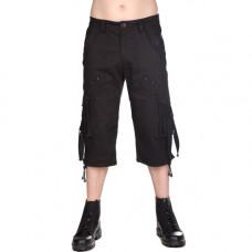 Black Pistol Military Short Pants Denim (black)